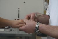 Szilikon-Ház -Ujj formájának kialakítása, ujjpótlás előkészítése